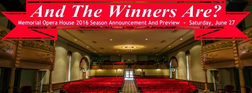 Memorial-Opera-House-2016-Awards-Promo