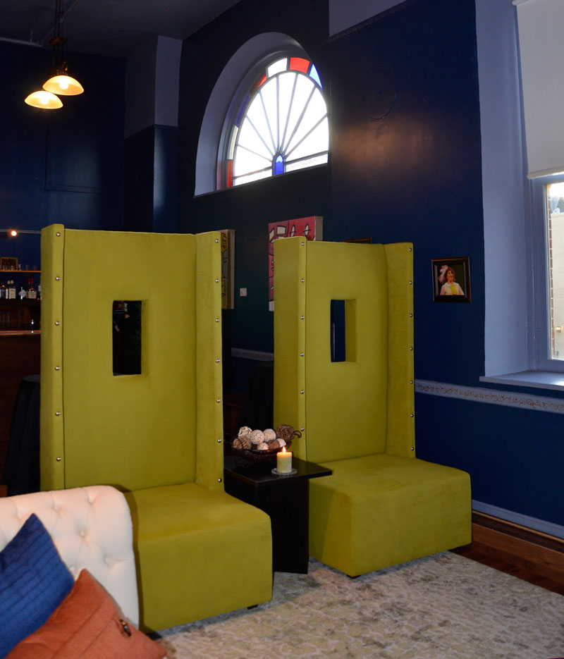 Memorial Opera House Receives Furniture Donations from Valparaiso Business