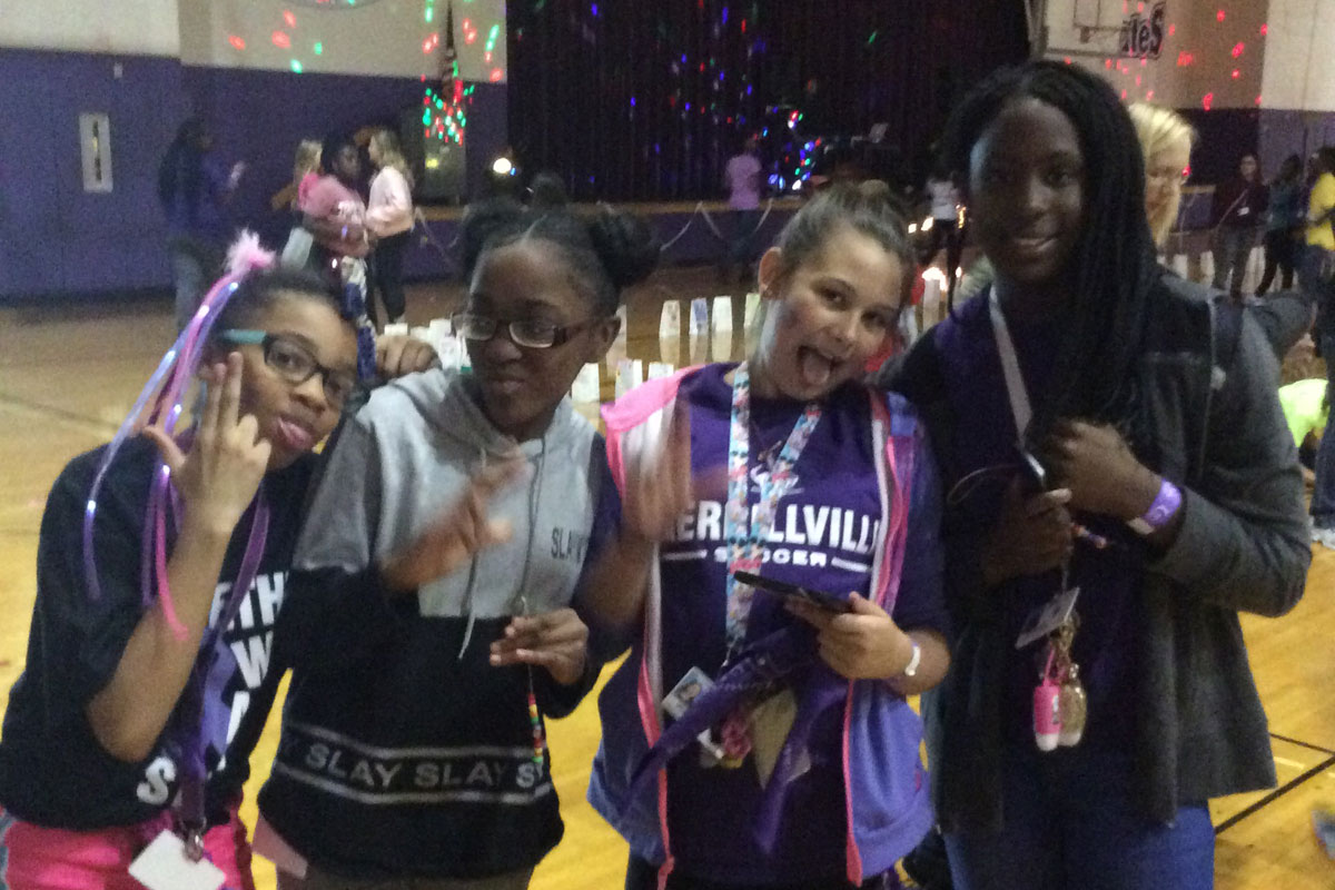 Merrillville Intermediate Schools Stands Together Against Cancer
