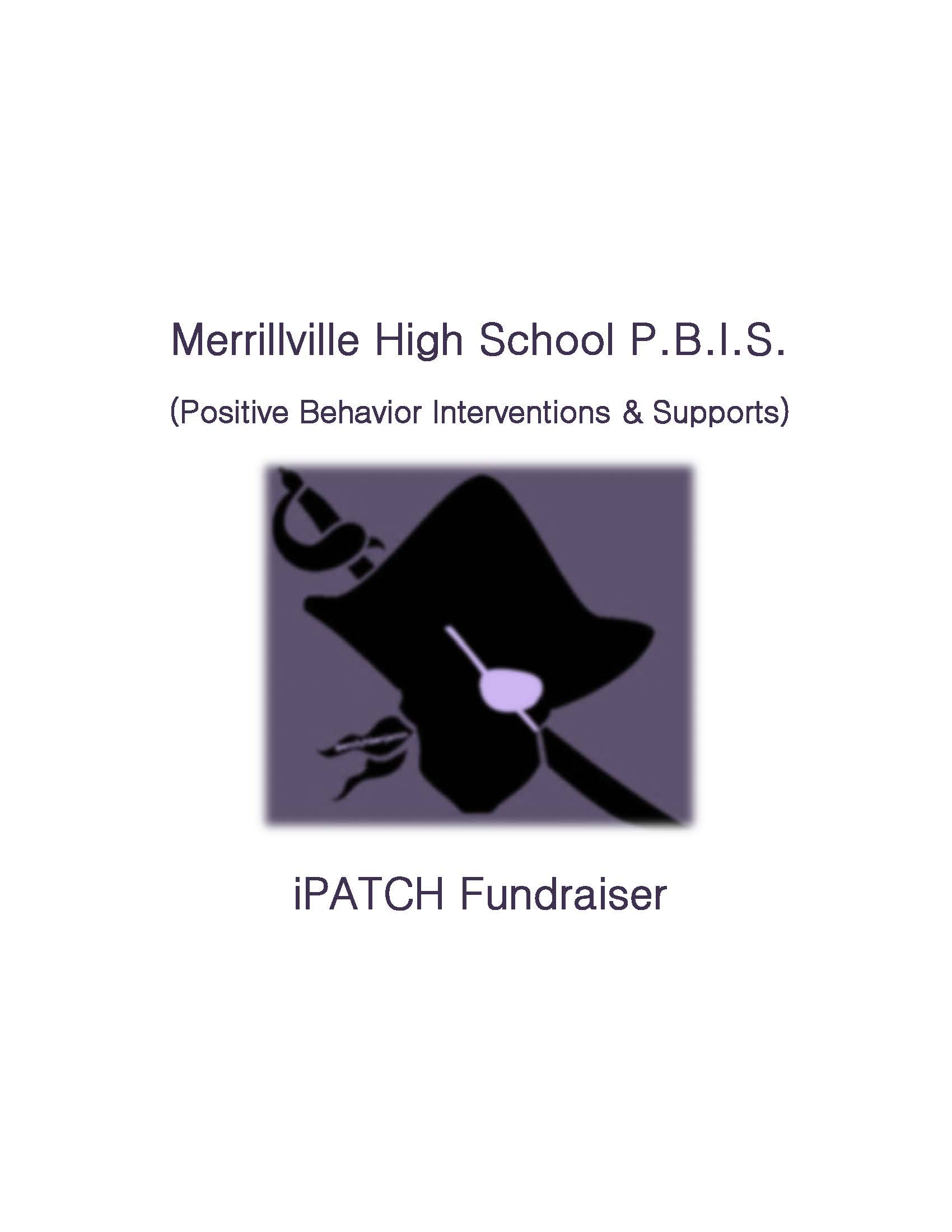 Merrillville High School PBIS Team Announces December Fund Raisers!