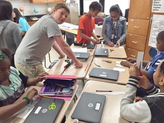 Merrillville Intermediate Science class Receives GoPros in 2015