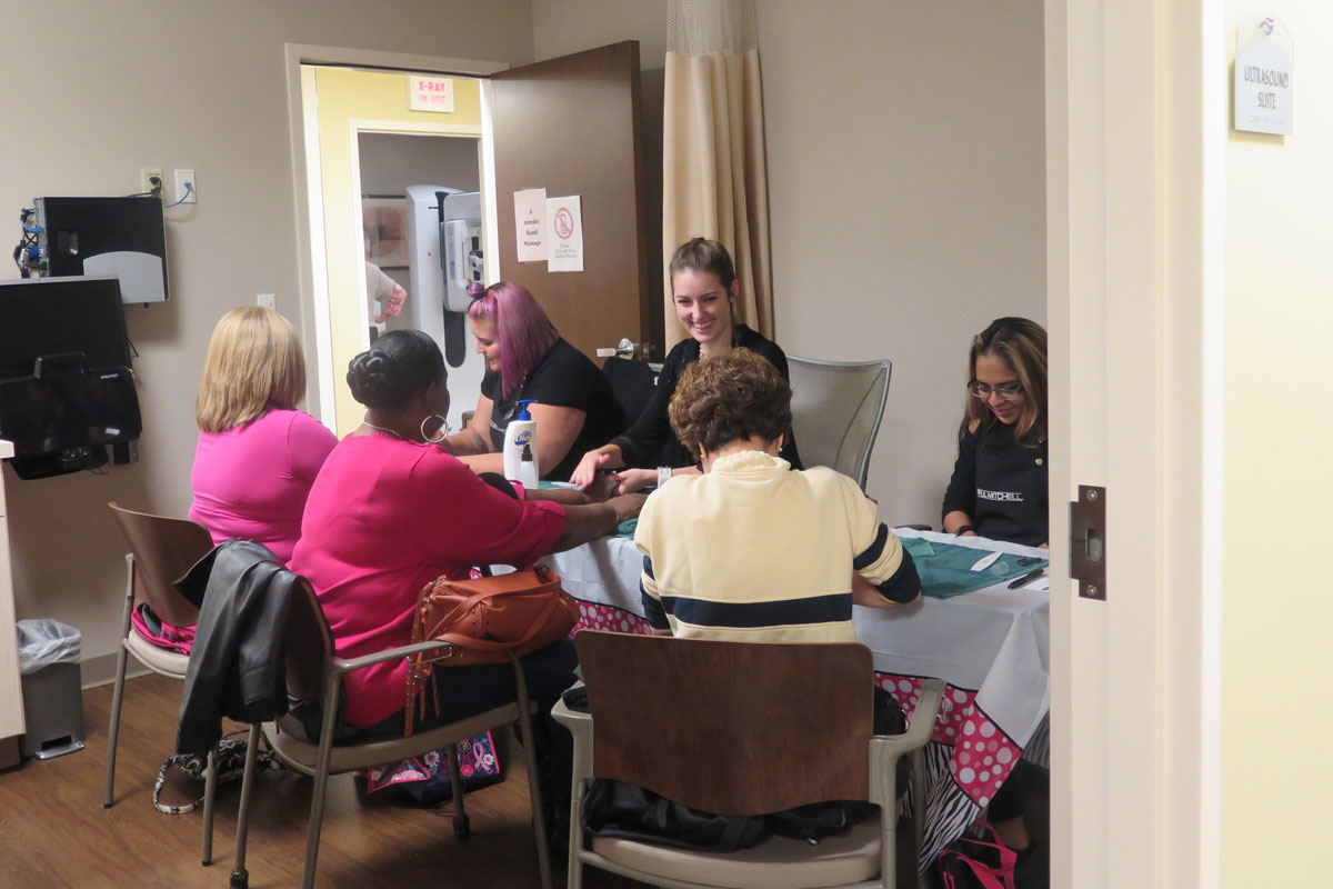The Northwest Indiana Breast Care Center at Methodist Hospitals Holds 2016 Go Pink Open House