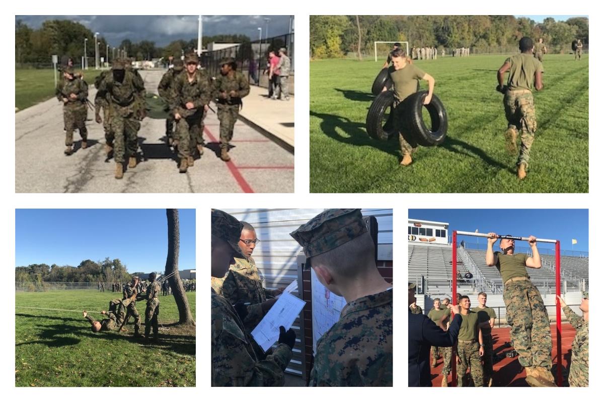 Michigan-City-High-School-MCJROTC-Competes-Earns-Award-at-Hobart-Raider-Competition-2018