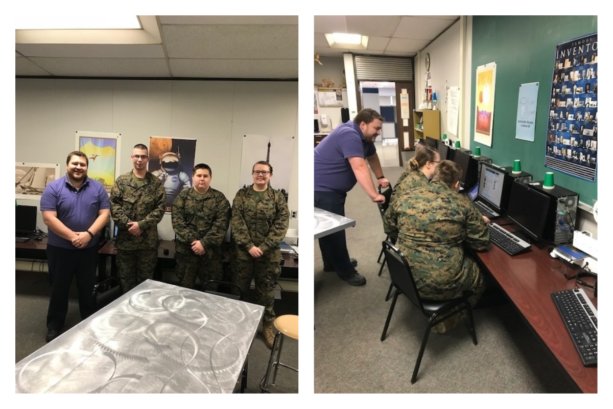 Michigan-City-High-School-MCJROTC-Competes-in-Cyber-Patriot-2018_0
