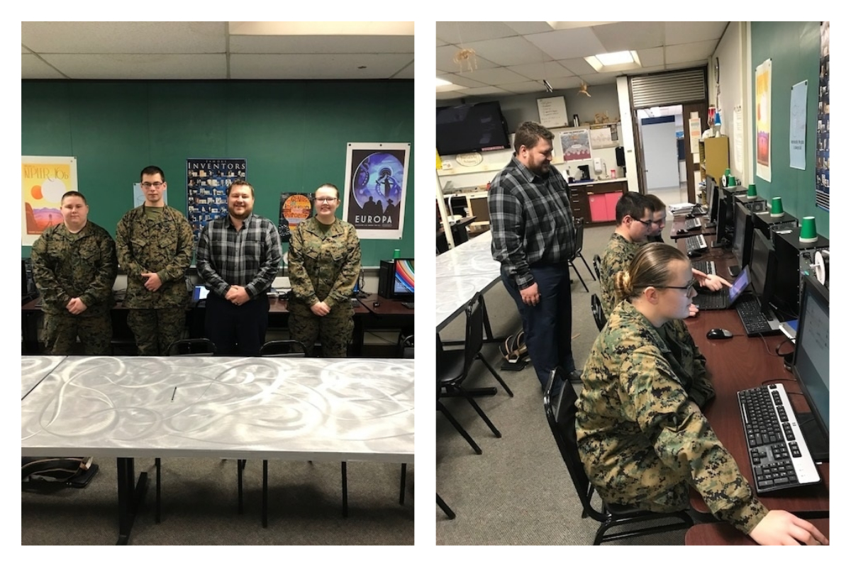Michigan-City-High-School-MCJROTC-Competes-in-Cyber-Patriot-2019