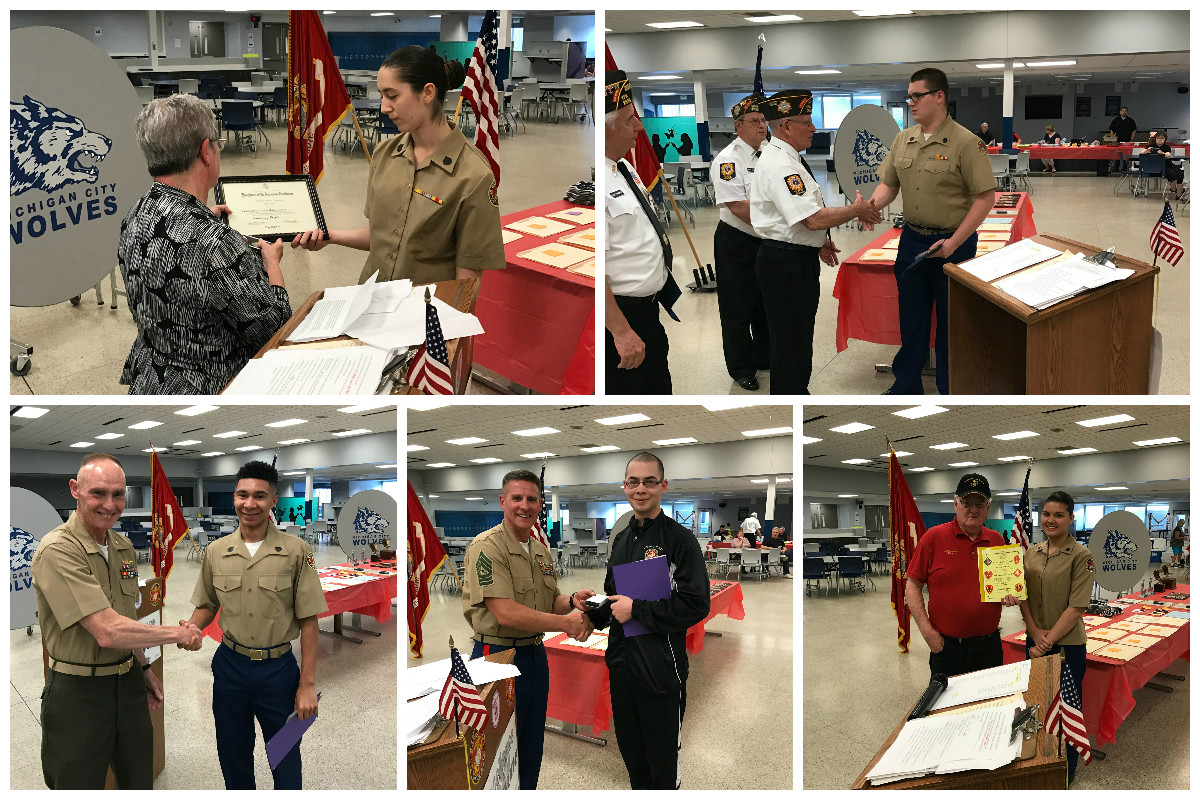 Michigan-City-High-School-MCJROTC-Conducts-Awards-Ceremony-2017