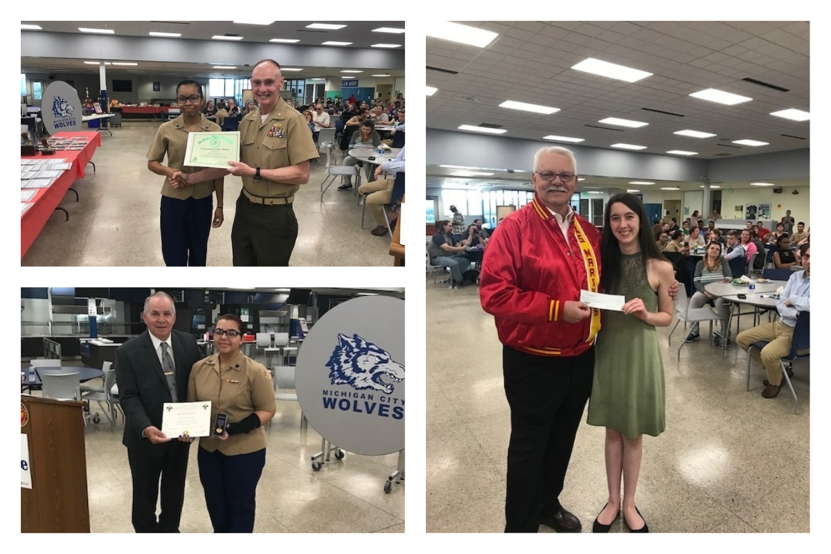 Michigan-City-High-School-MCJROTC-Conducts-Awards-Ceremony-2019