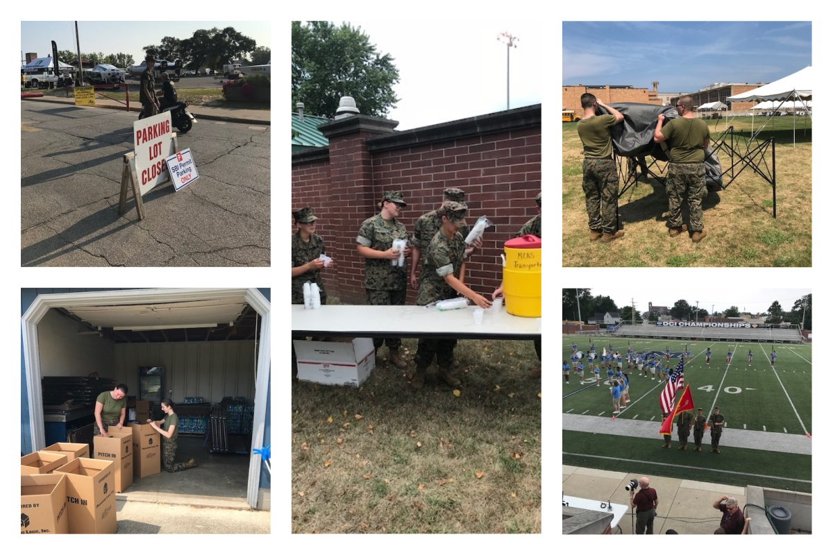 Michigan-City-High-School-MCJROTC-Supports-School-District-and-Community-to-End-Summer