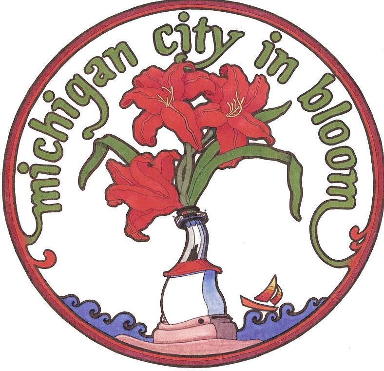 Michigan-City-in-Bloom-Logo