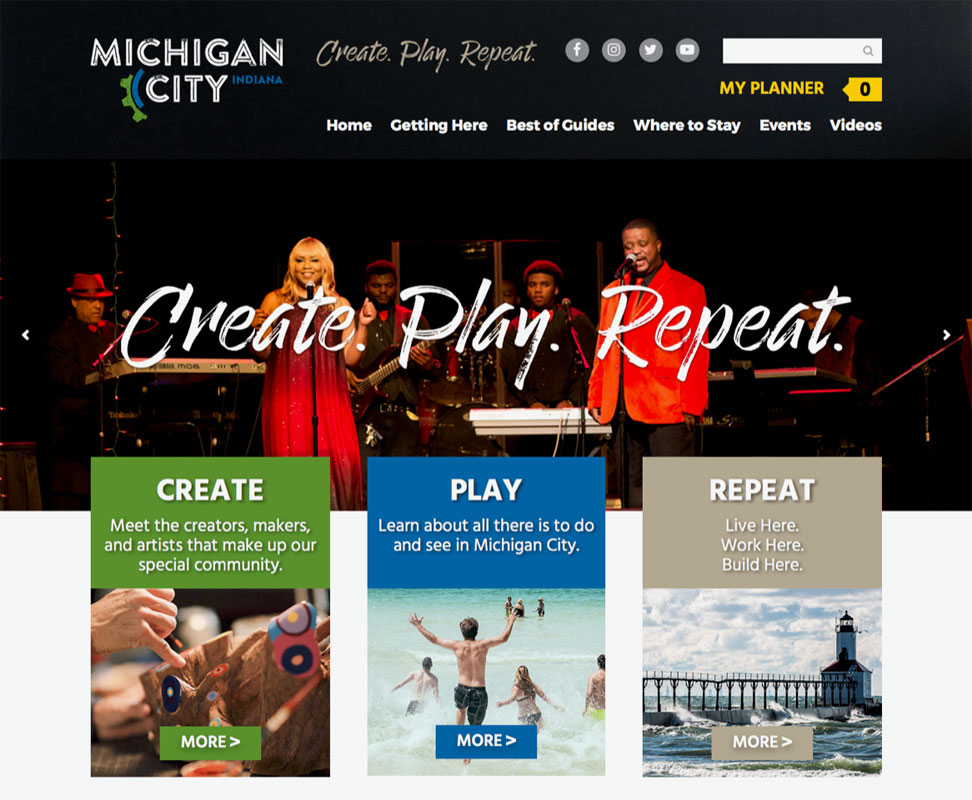Michigan-City-Launches-New-Community-Website-CreatePlayRepeatcom