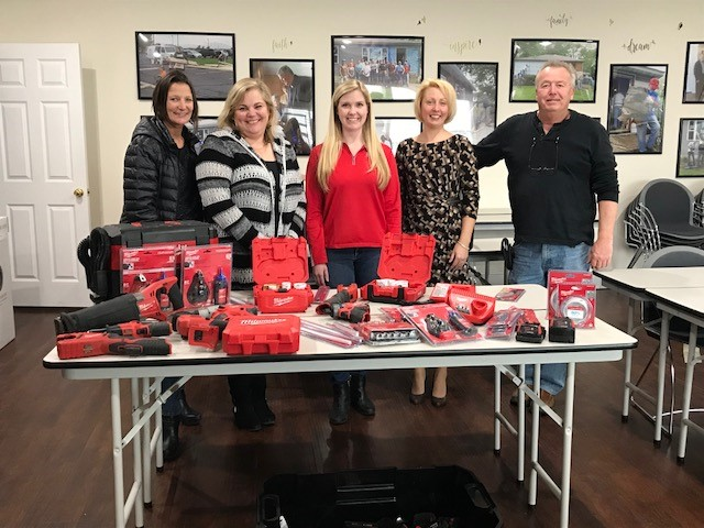 Milwaukee Tool Donates to Habitat for Humanity of NWI