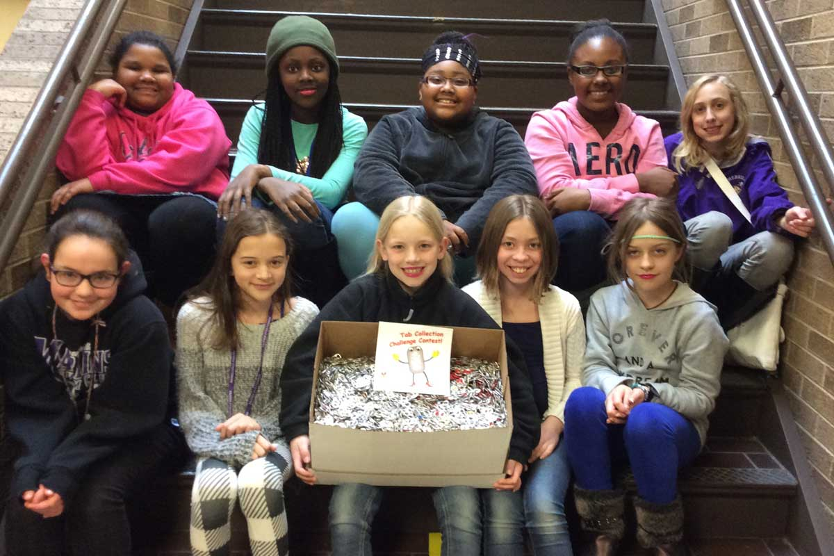Merrillville Intermediate S.T.A.N.D. Hosts 2nd Annual Pop Tab Collection