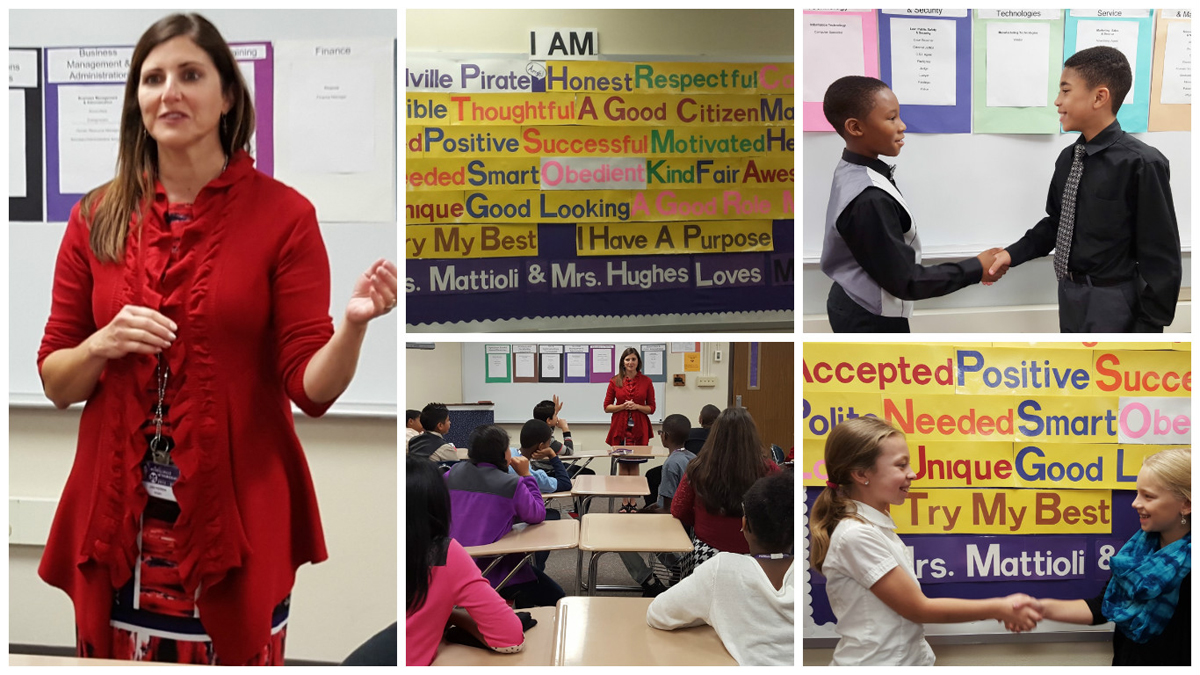 Merrillville Intermediate Students Learn about Careers