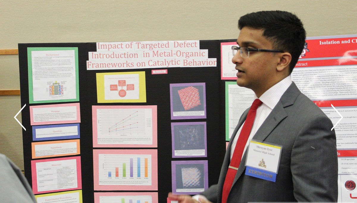Munster High Earns High Honors at 66th Annual Northwest Indiana Science and Engineering Fair