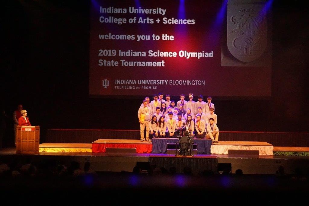 Munster High School is Runner-Up in State Science