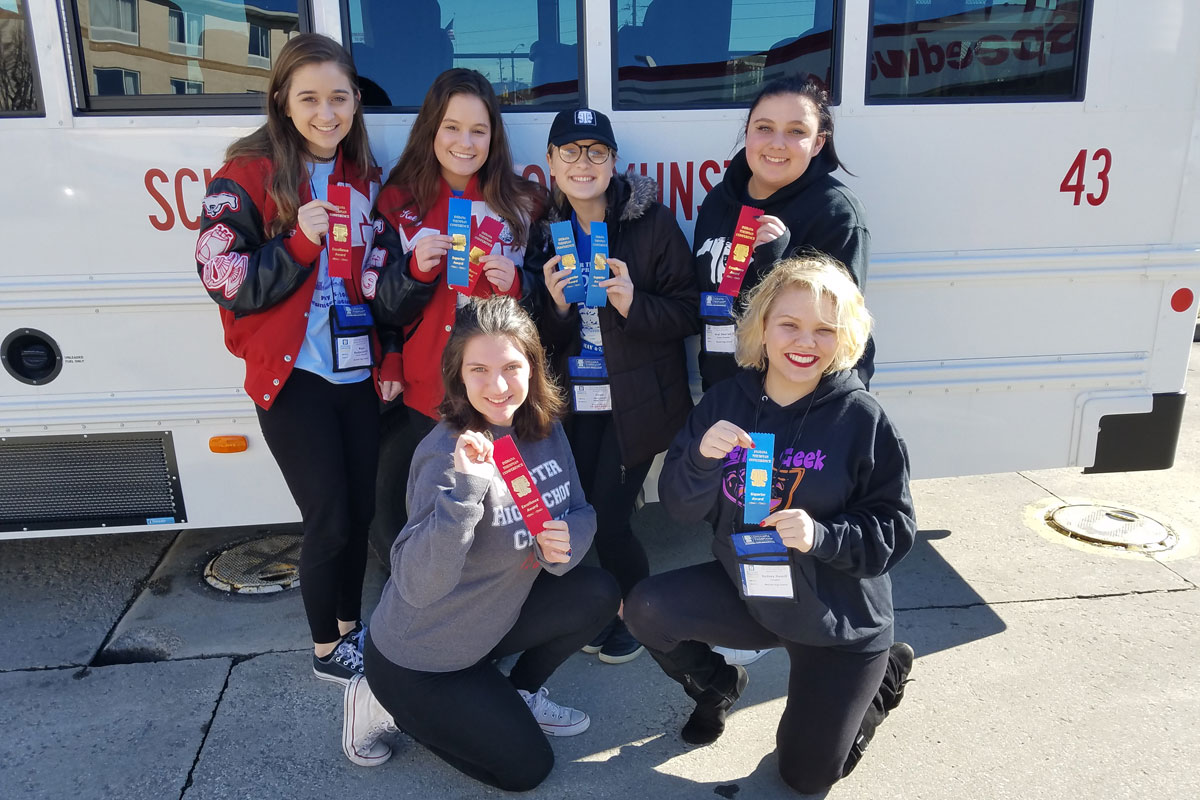 Munster High School Shines at Indiana State Thespians