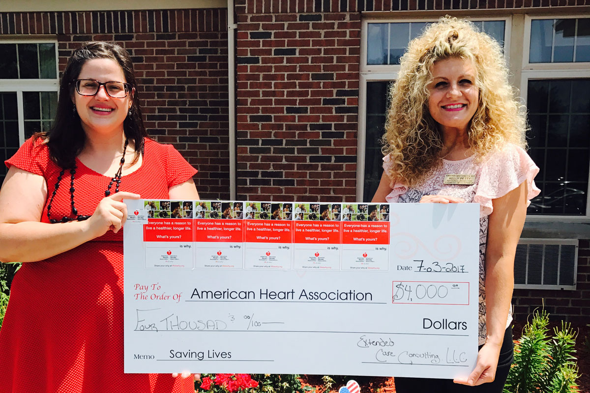 Munster-Med-Inn-Spring-Mill-health-and-Rehab-Dyer-Nursing-and-Rehab-Lincolnshire-and-Sebos-Nursing-and-Rehab-Go-Red-in-Sponsorship-of-the-American-Heart-Association