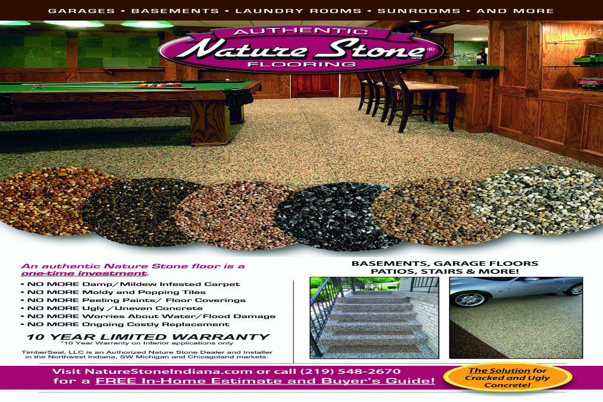 Timberseal, LLC. Proud to Offer Nature Stone Flooring to Northwest Indiana