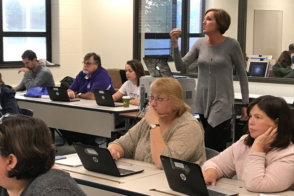 New Classroom Technology Revealed By Experts For Merrillville High School Staff