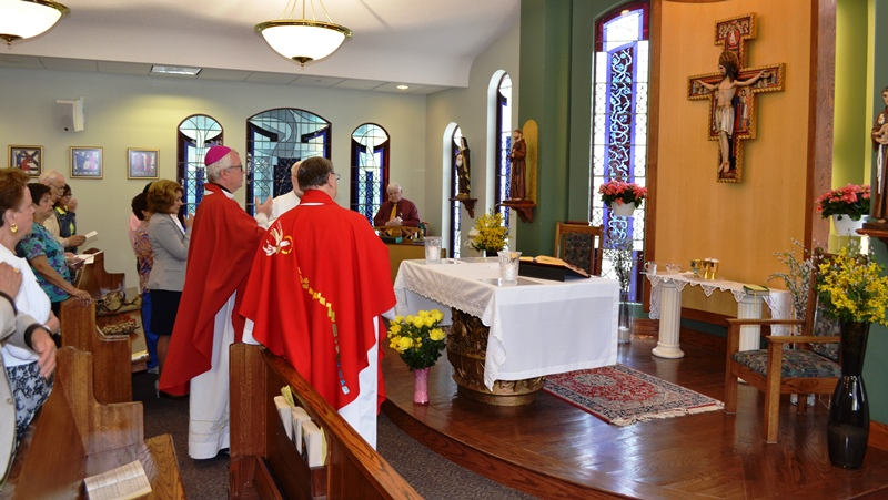 New-Corpus-Christi-Chapel-Cross-Receives-Bishops-Blessing