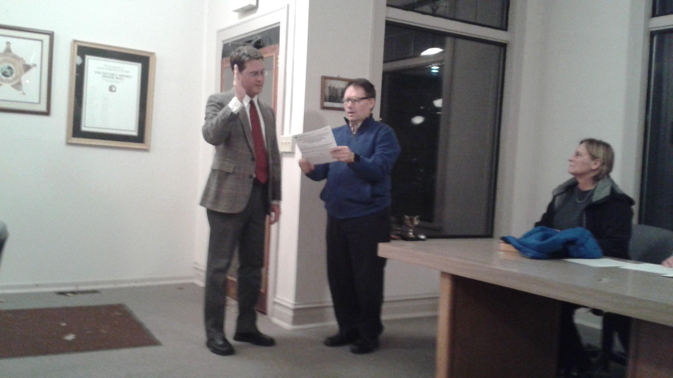 New Clerk-Treasurer Sworn In for Town of Beverly Shores
