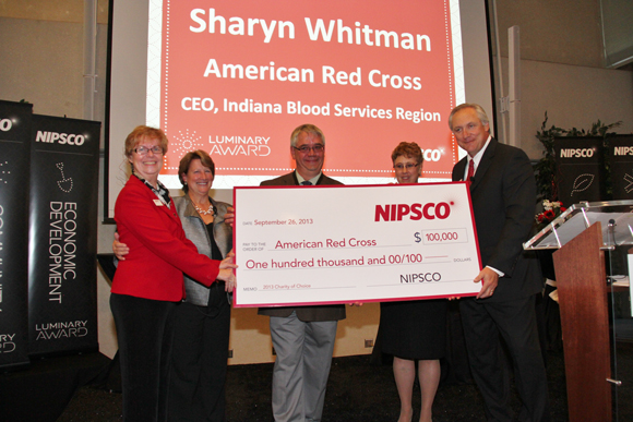 NIPSCO's 2013 Charity of Choice Campaign Raises $100,000 for Red Cross