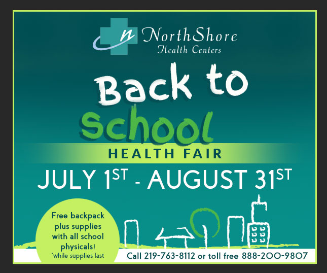 NorthShore Health Centers to host 2016 Back to School Health Fair