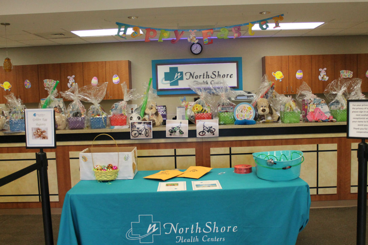 Northshore Health Centers Hosts their 1st Annual Easter Egg Hunt