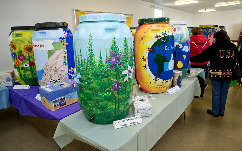 Northwest Indiana Schools, Classes Invited to Compete in 2015 Rain Barrel Design Contest