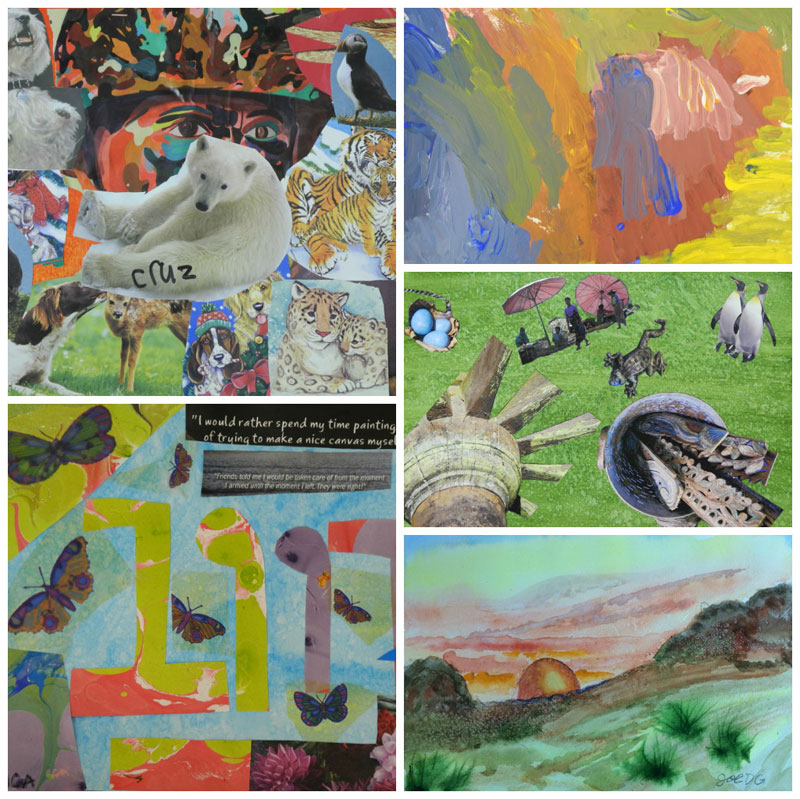 """Opening Reception for """"Perspectives from Extraordinary Students"""" on January 2, 2015"""