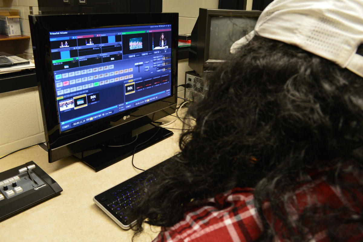 New Crew Takes Indian News Network To Another Level at Portage High School