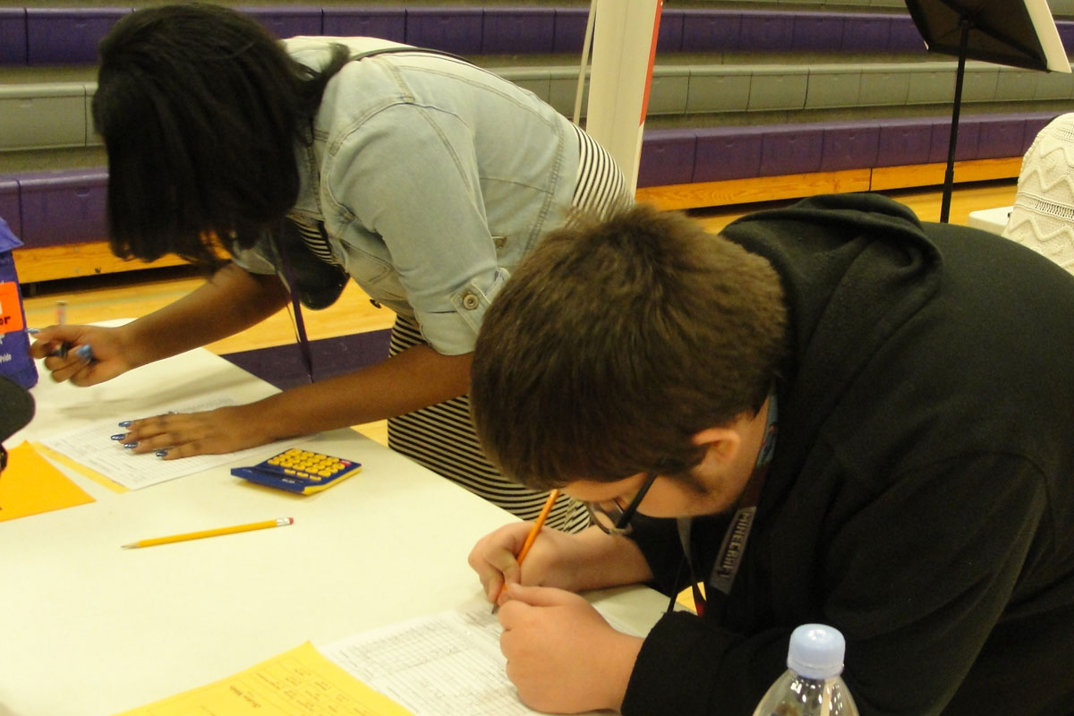 Pierce Students Learn about Real Life