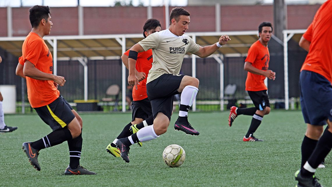 PNW-Mens-Soccer-Records-Draw-With-Goshen-College-in-Season-Opener