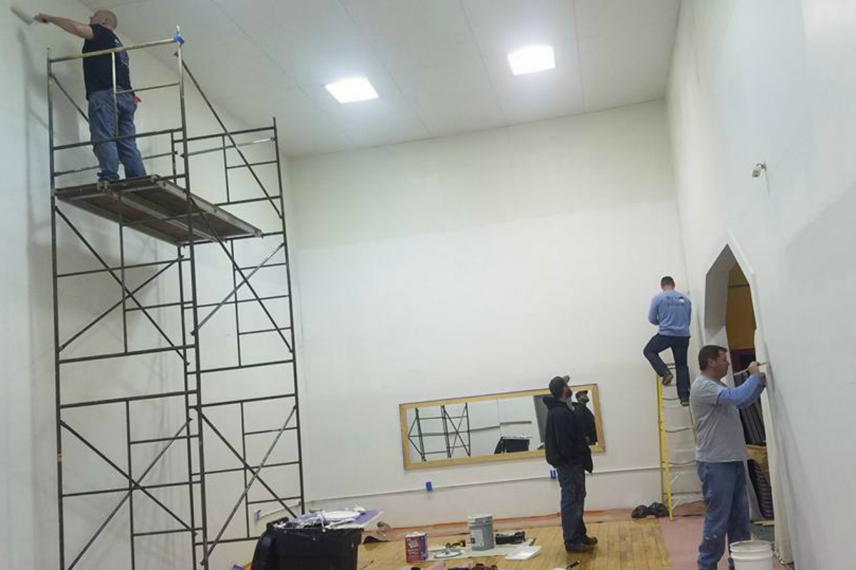 United Way of Porter County and Union Workers Partner to Give the Portage YMCA a Makeover