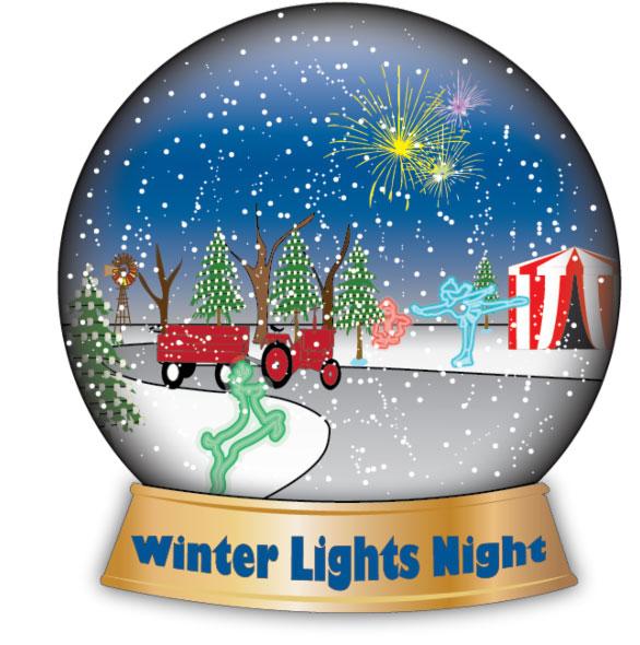 Porter-County-Parks-Winter-Lights-Snow-Globe