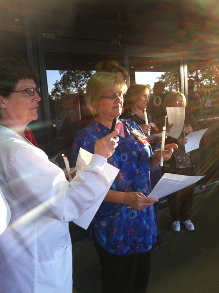 Porter Health Care System to Honor Nurses with a Candelight Vigil