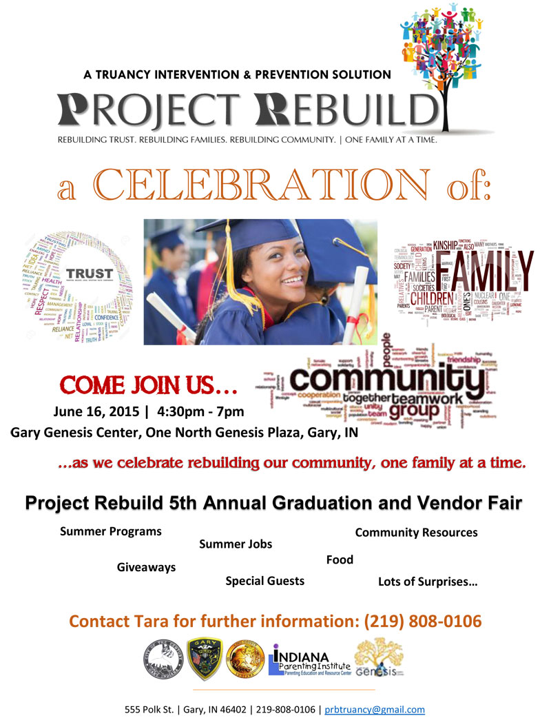 Project Rebuild Celebrates 30 Families Who Overcame Truancy