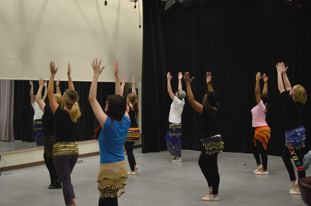 College Students Take Cultural Step into Dance