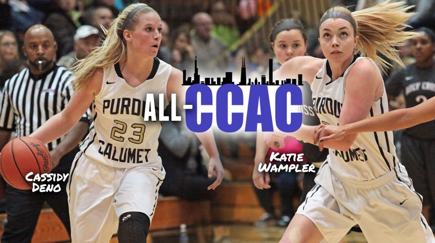 PUC-Cassidy-Deno-Katie-Wampler-Named-to-All-CCAC-Team
