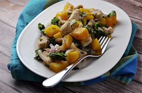 Pumps-Fitness-Recipes-Chicken-Hash-with-Butternut-Squash-and-Kale