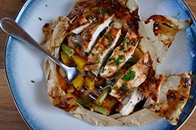 Pumps-Glazed-Chicken-and-Veggies-En-Papillote
