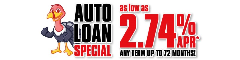 Black Friday Auto Loan Special through Nov. 27th at REGIONAL Federal Credit Union