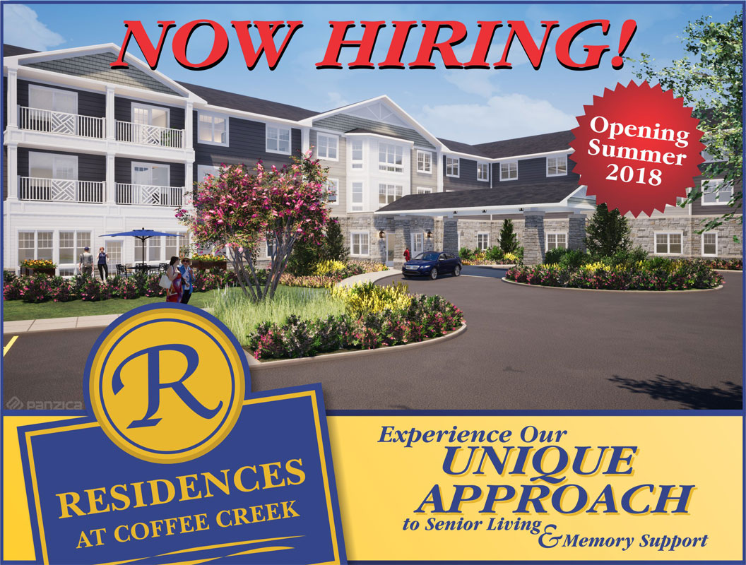Residences-at-Coffee-Creek-Now-Hiring-for-Multiple-Positions-2018