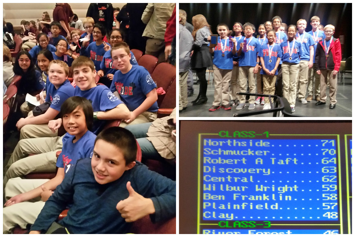 Robert A. Taft Middle School Goes to State in 2016