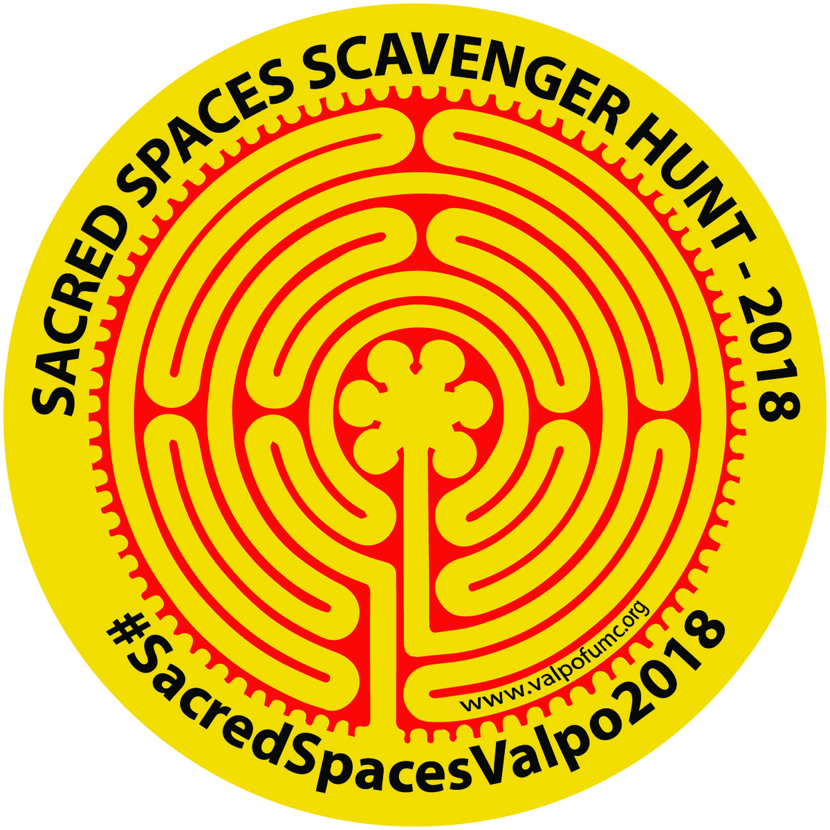 Sacred Spaces Valpo Scavenger Hunt 2018: Finding Spiritual Space in Everyday Life