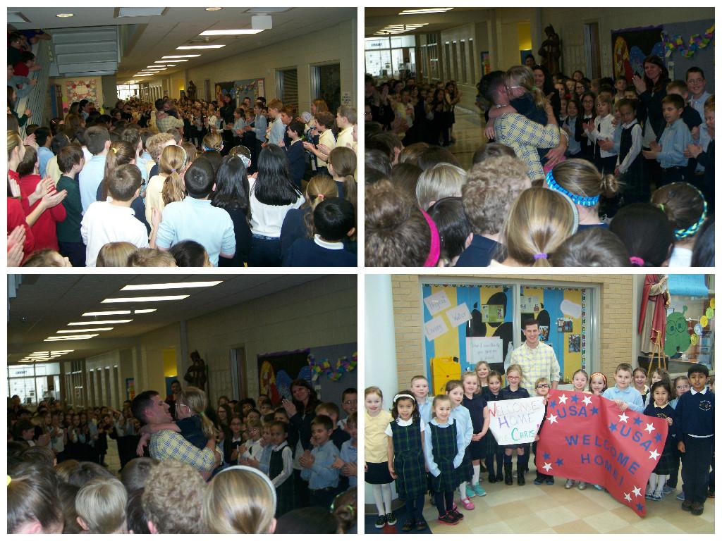 Saint-Paul-Catholic-School-Welcomes-Serviceman-Home