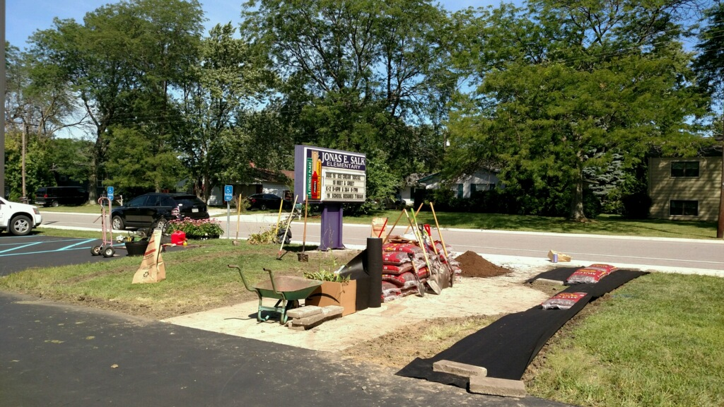 Eagle Scout Project Benefits Salk Elementary