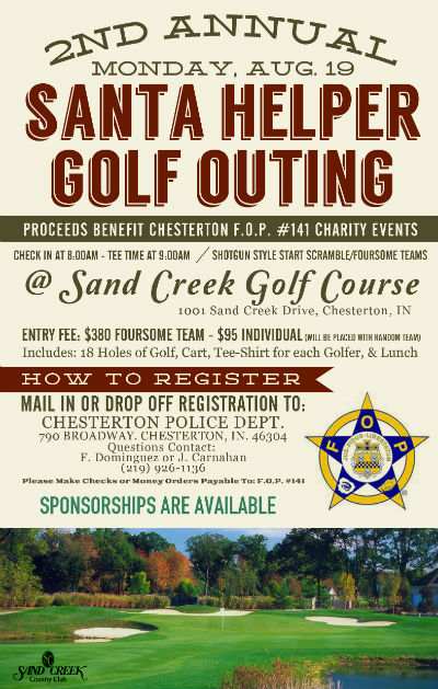 Hurry and Register for the 2nd Annual Santa Helper Golf Outing