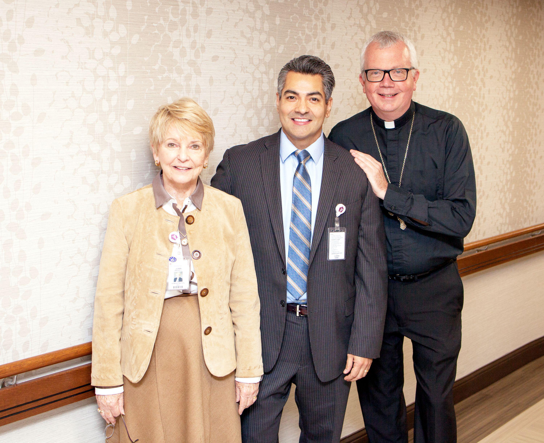 Bishop Makes Pastoral Visit to St. Catherine Hospital