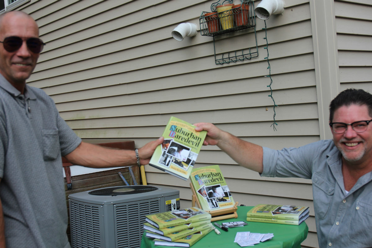 Erny Signs Copies of Book on Growing Up in Northwest Indiana